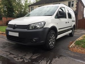 VW Caddy 4Motion 4x4 Overland Camper FSH