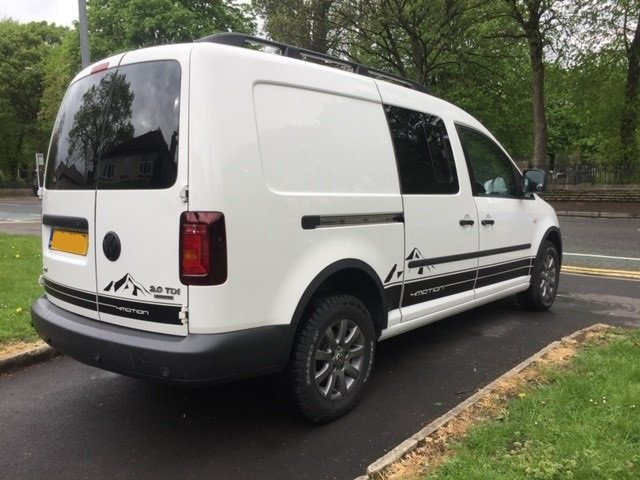 2013 VW Caddy 4Motion 4x4 Overland Camper FSH For Sale (picture 3 of 6)
