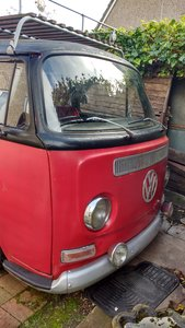 Picture of 1972 Baywindow camper project