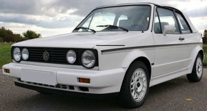 Picture of 1990 Volkswagen Golf 1 Cabrio White Special