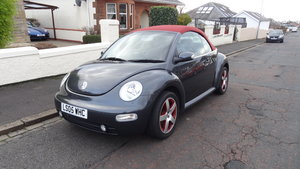 Limited Edition 'Dark Flint' Beetle Convertible