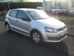 2011 11-reg Volkswagen Polo 1.2 S manual