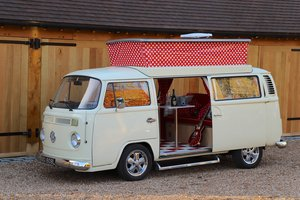 Picture of 1973 VW Bay Window Camper Van. Factory Right Hand Drive.