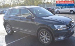 2016 VW Tiguan SE NAV TDI BMT 57,385 Miles for auction 25th