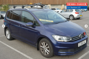 2016 VW Touran SE Family TDI BMT 31,846 Miles - auction 25th