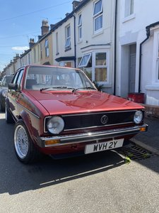 Re-Conditioned VW Golf MK1