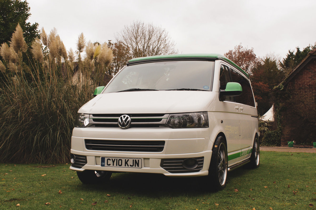 2010 VW T5 Custom Camper Van – 60th Anniversary For Sale (picture 1 of 6)