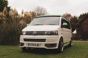 VW T5 Custom Camper Van – 60th Anniversary