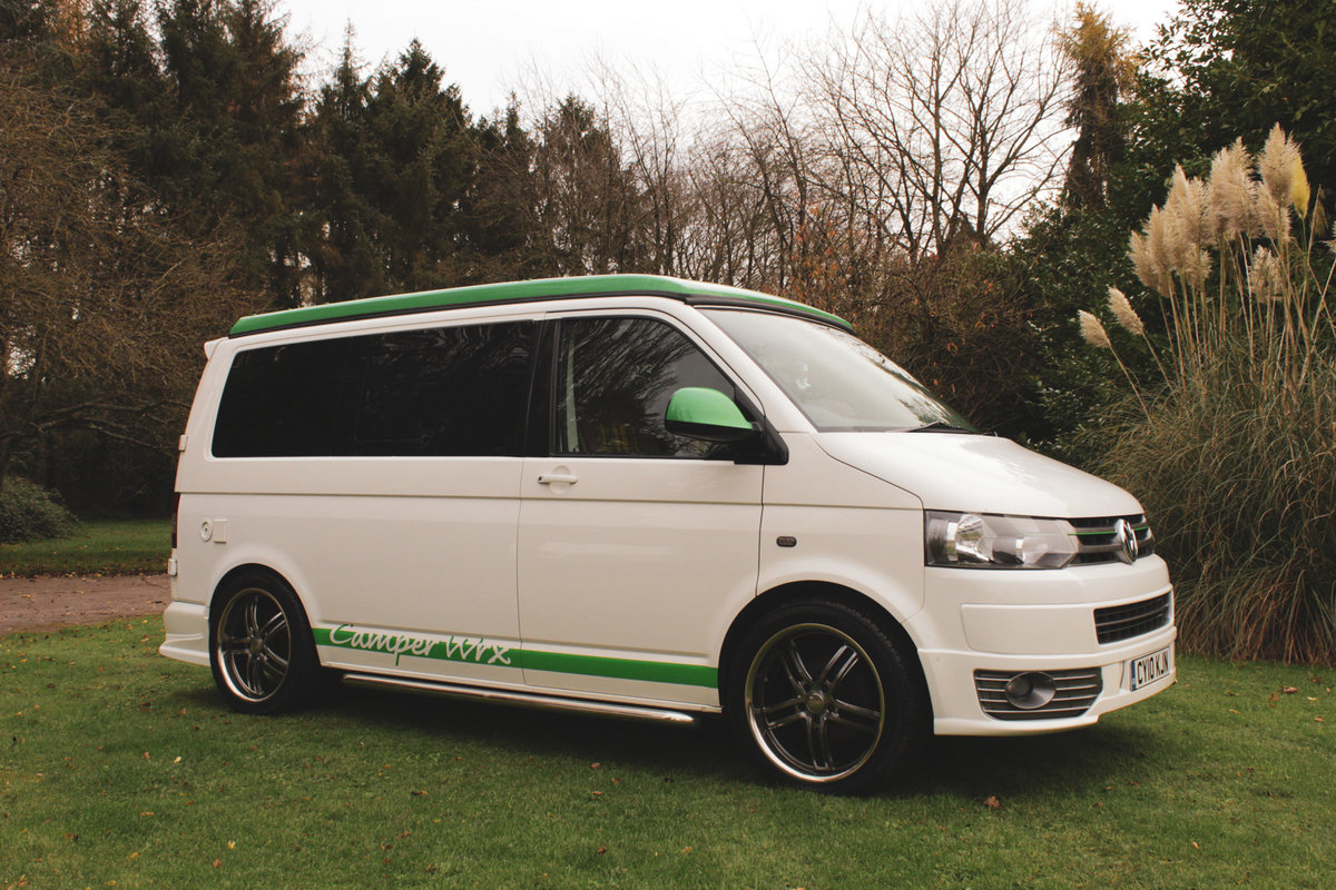 2010 VW T5 Custom Camper Van – 60th Anniversary For Sale (picture 2 of 6)