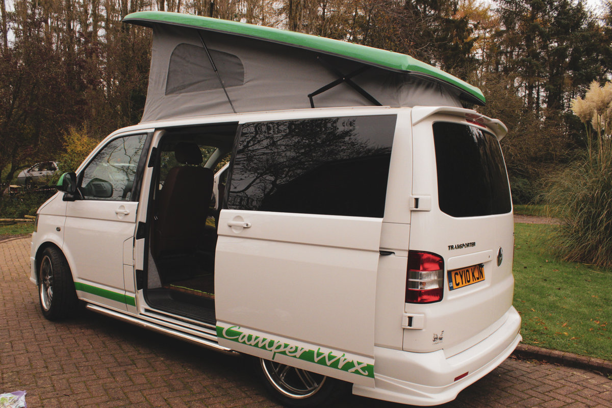 2010 VW T5 Custom Camper Van – 60th Anniversary For Sale (picture 3 of 6)