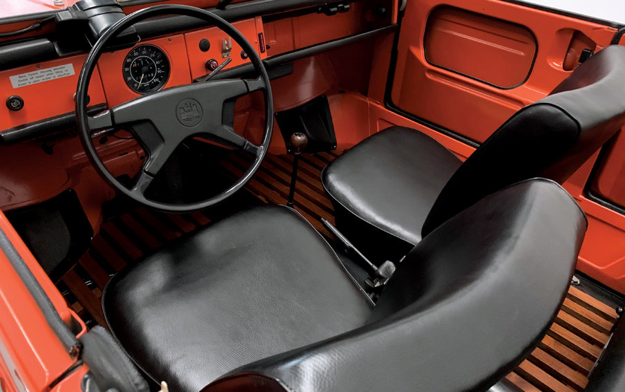 1973 Volkswagen Type 181 The Thing • Restored • For Sale (picture 9 of 10)