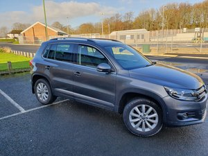 VW tiguan 2.0 4 motion automatic