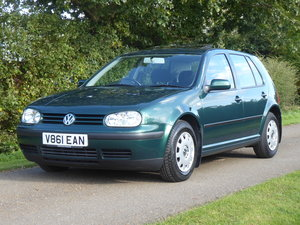 Picture of 1999 Volkswagen Golf 1.6 SE 52,000 miles FSH 20 services 1 owner
