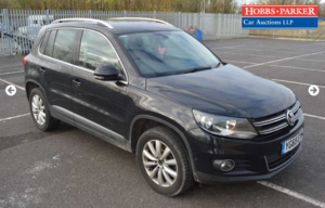 Picture of 2015 VW Tiguan Match Tdi 46,980 Miles for auction 25th For Sale