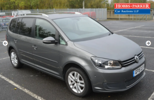 Picture of 2015 VW Touran SE 122,841 Miles for auction 25th