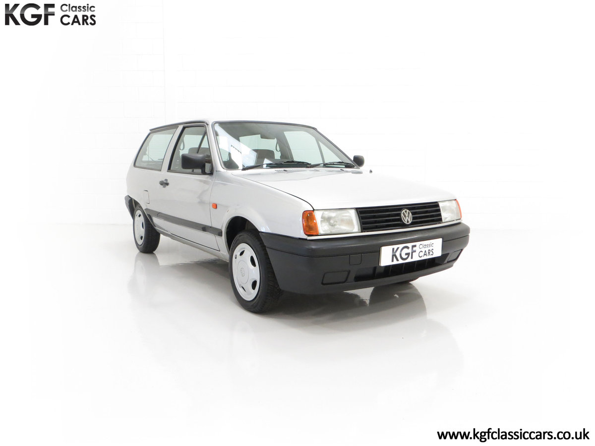 1992 A Volkswagen Polo Mk2F Genesis Breadvan with 34,637 Miles For Sale (picture 1 of 24)
