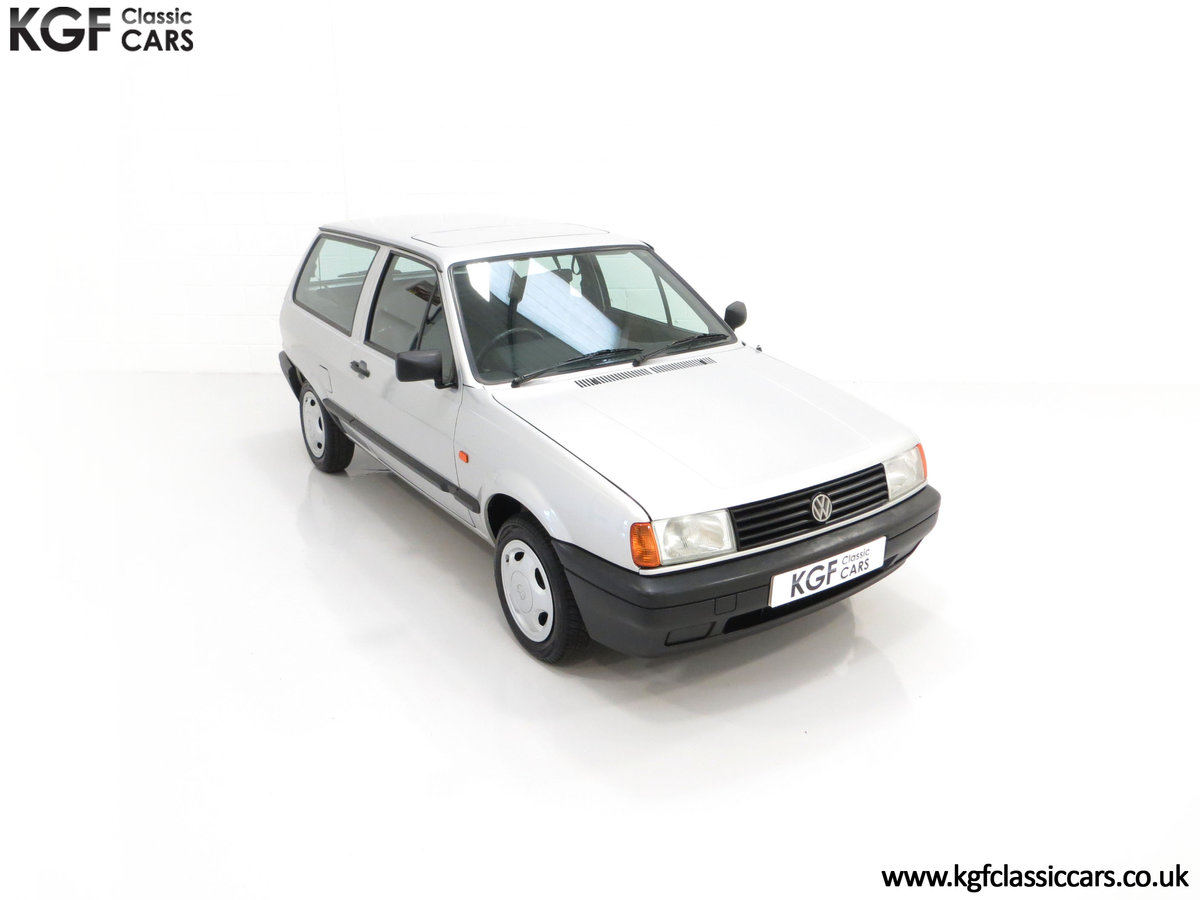 1992 A Volkswagen Polo Mk2F Genesis Breadvan with 34,637 Miles For Sale (picture 2 of 24)
