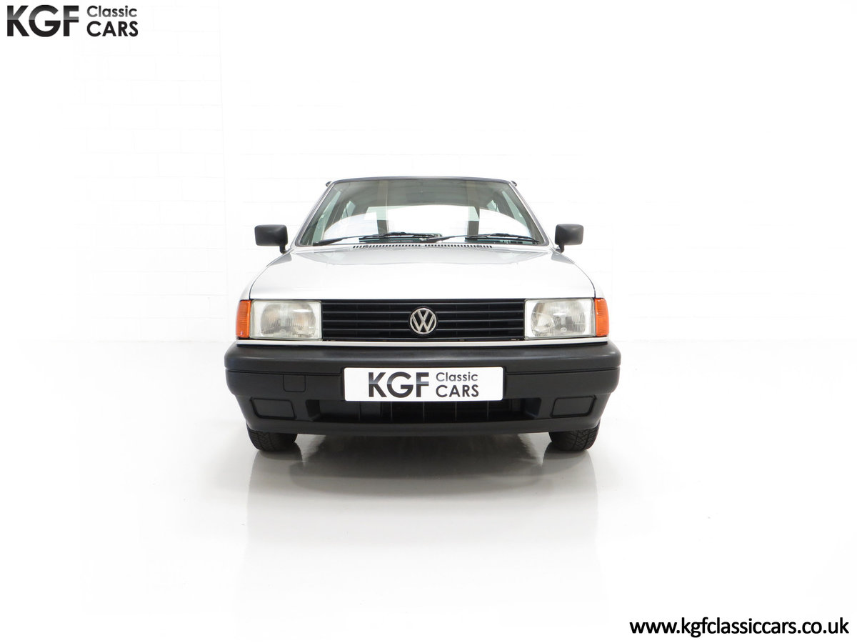1992 A Volkswagen Polo Mk2F Genesis Breadvan with 34,637 Miles For Sale (picture 3 of 24)