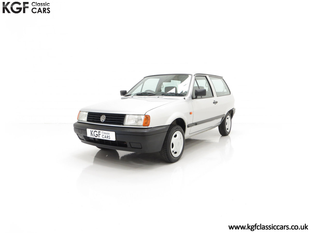 1992 A Volkswagen Polo Mk2F Genesis Breadvan with 34,637 Miles For Sale (picture 6 of 24)