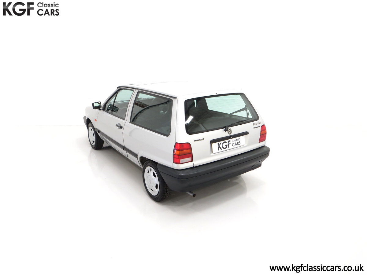 1992 A Volkswagen Polo Mk2F Genesis Breadvan with 34,637 Miles For Sale (picture 9 of 24)