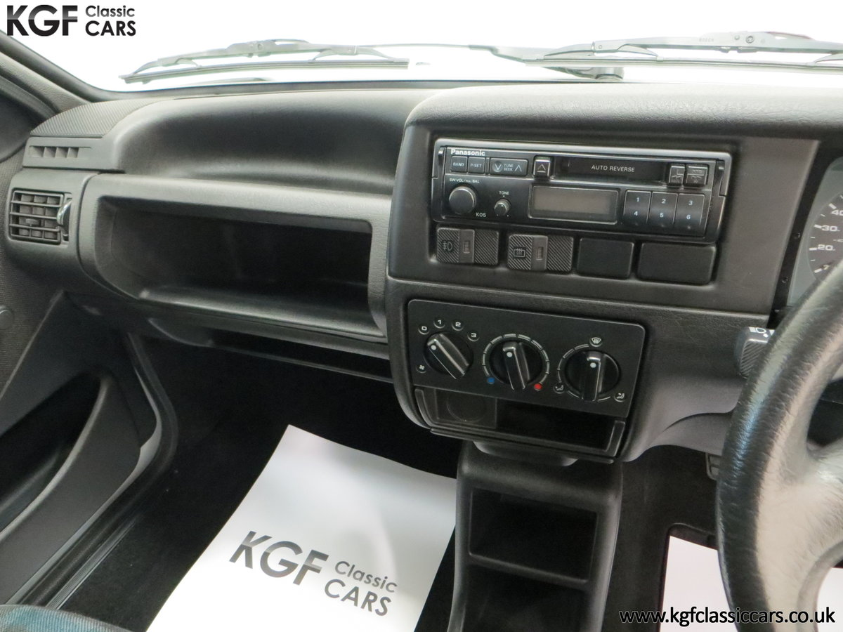 1992 A Volkswagen Polo Mk2F Genesis Breadvan with 34,637 Miles For Sale (picture 23 of 24)