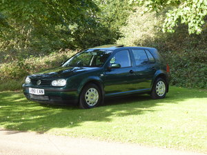Picture of 1999 Volkswagen Golf 1.6 SE 52,000 miles FSH 20 services 1 owner SOLD