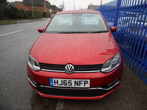 Picture of 2015 RED POLO 5 DOOR 1200cc PETROL MANAUL JUST 35,000 MILES CAT S