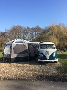 VW Splitscreen Camper, Type 2 Kombi, split screen