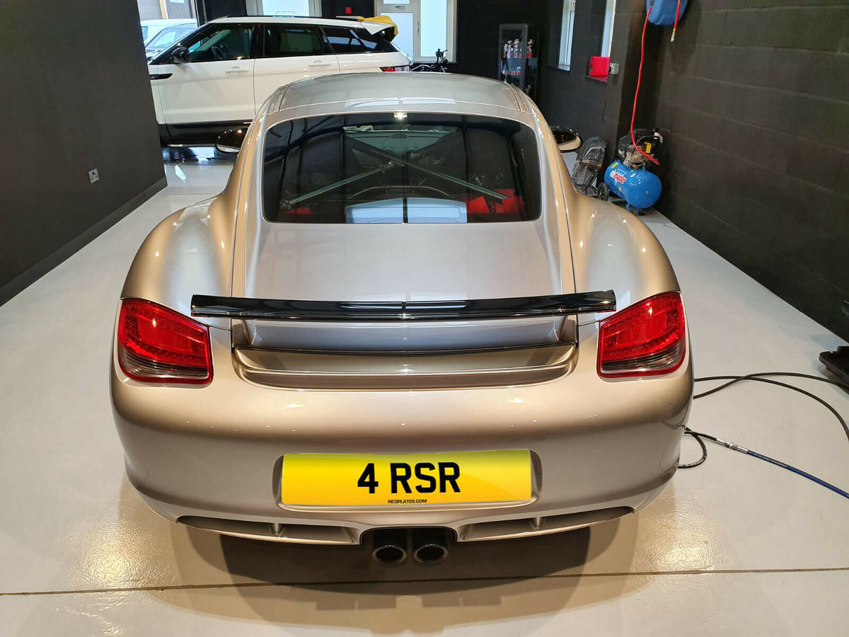 4 RSR - Cherished Dateless Number Plate For Sale (picture 3 of 4)