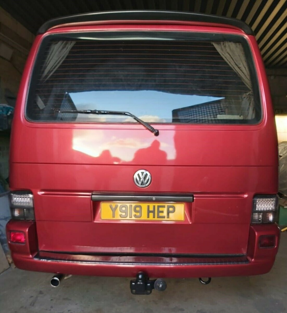 2002 Volkswagen T4 campervan 1.9TD For Sale (picture 4 of 10)