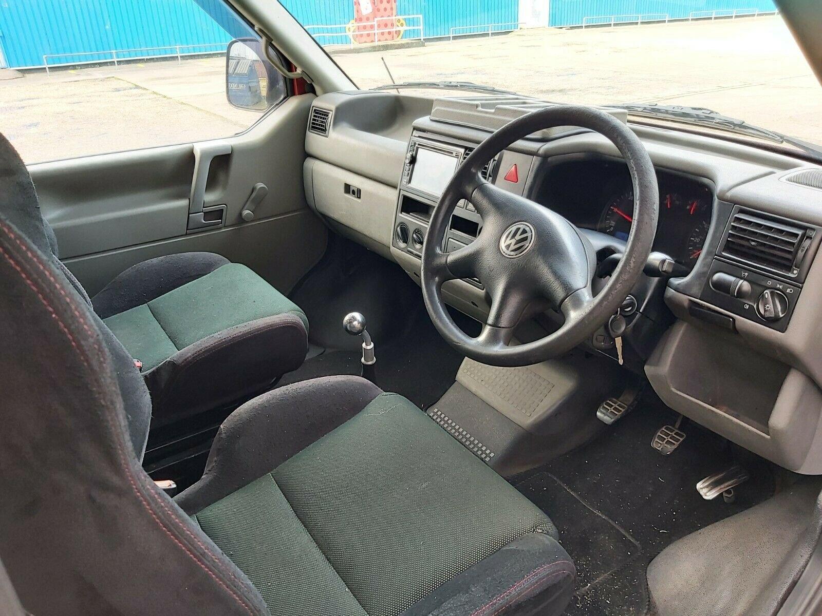 2002 Volkswagen T4 campervan 1.9TD For Sale (picture 5 of 10)