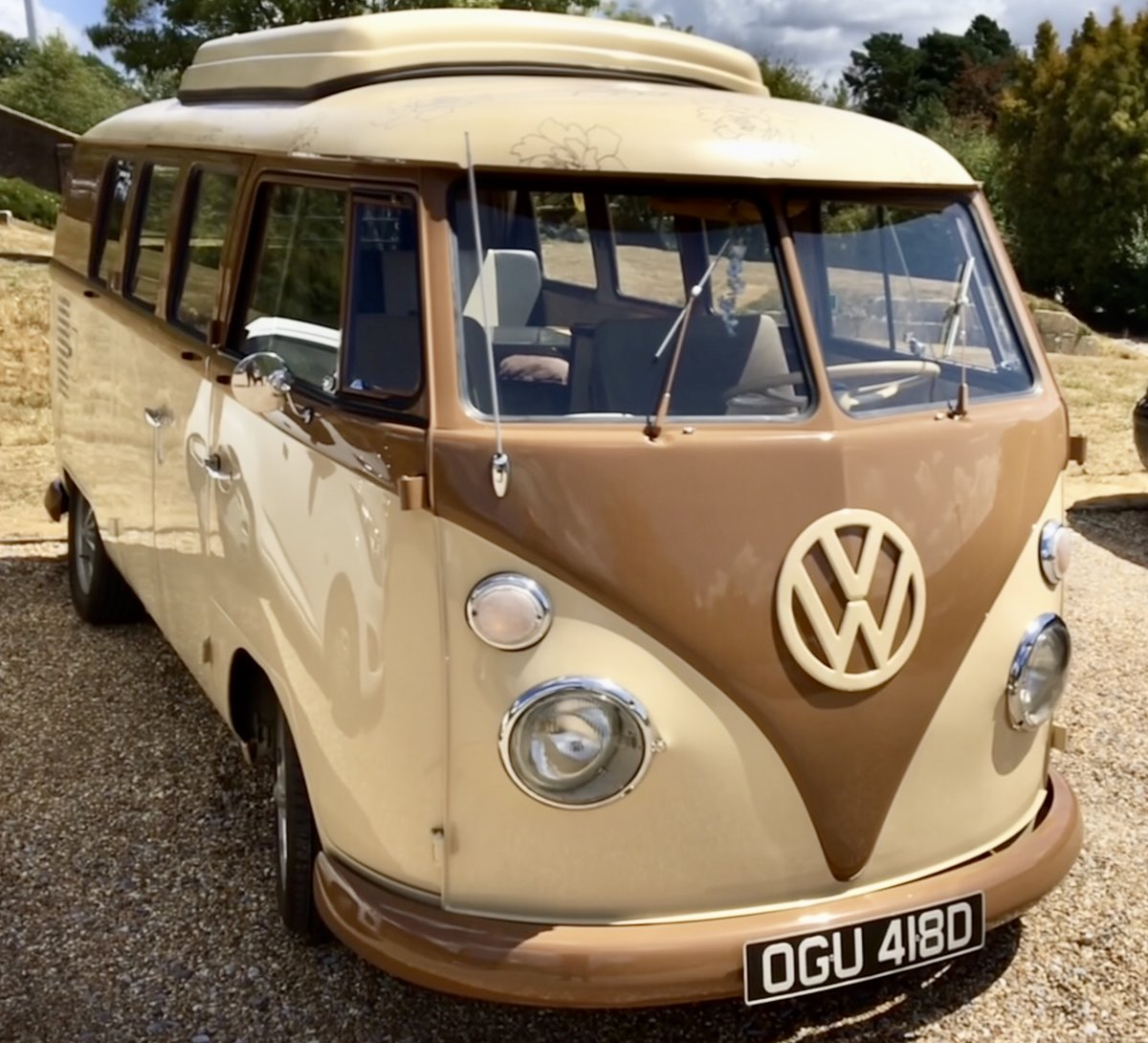 1966 VW Volkswagen Type 2 Split Screen Camper For Sale (picture 1 of 12)
