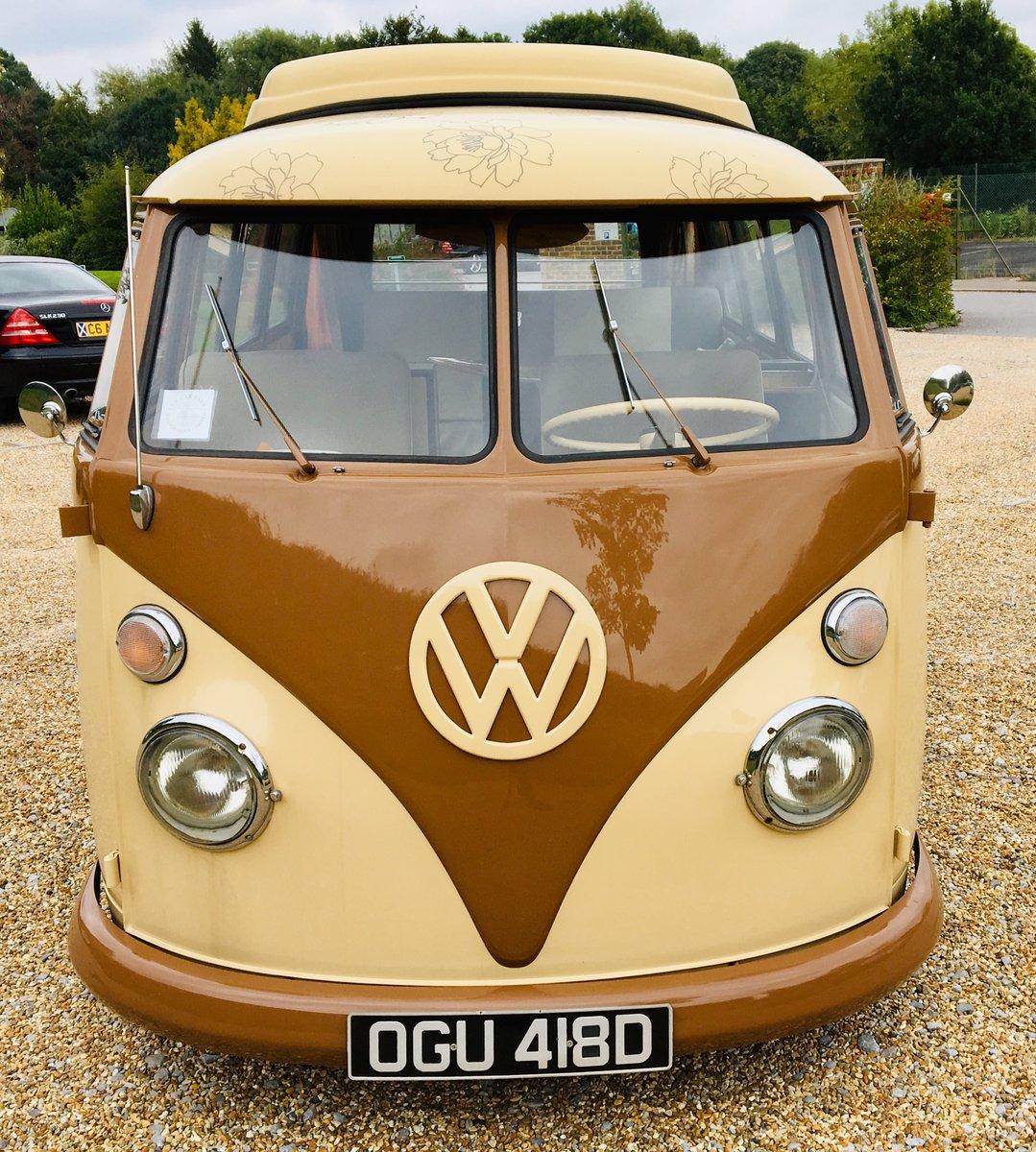 1966 VW Volkswagen Type 2 Split Screen Camper For Sale (picture 7 of 12)