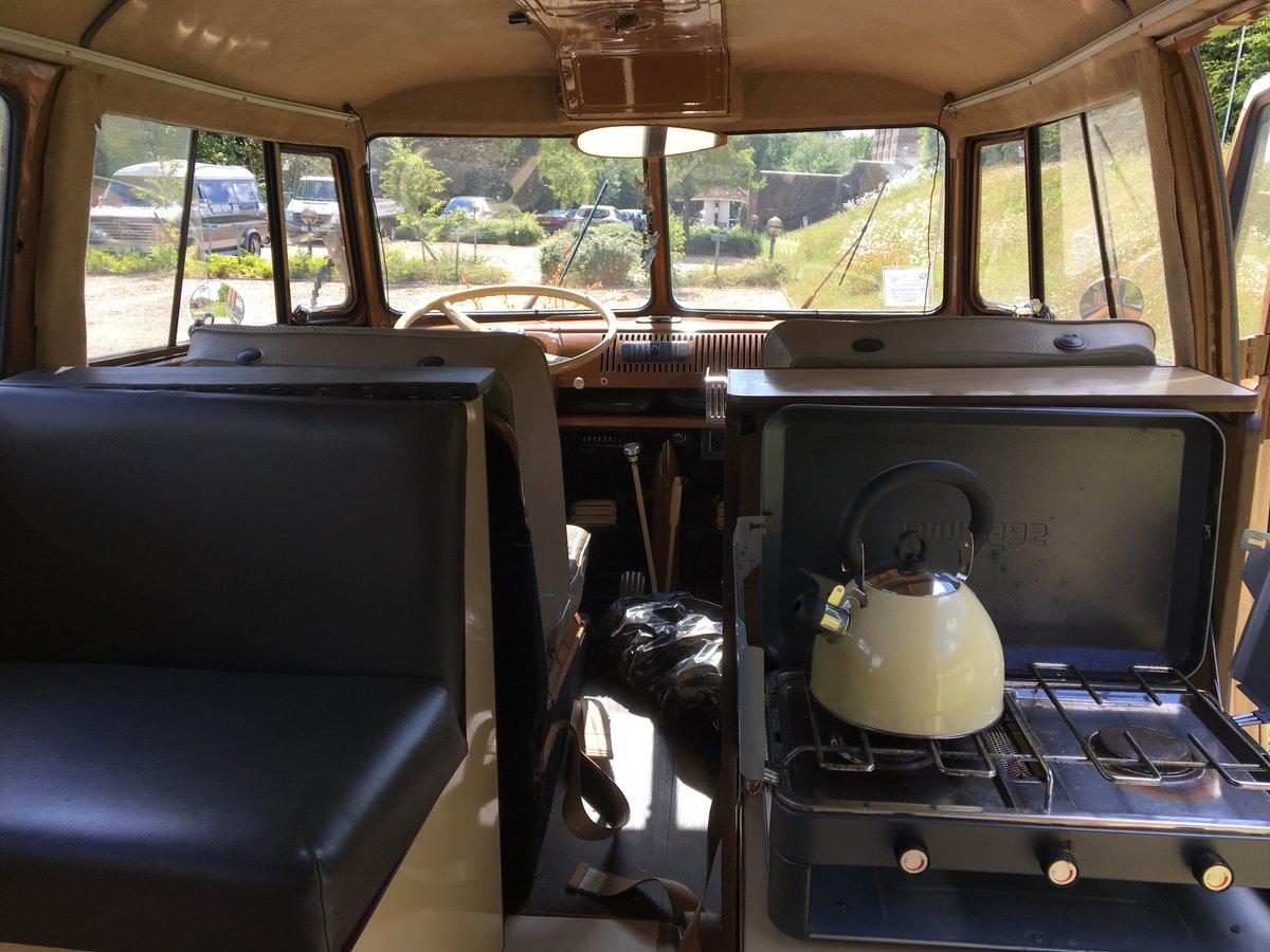 1966 VW Volkswagen Type 2 Split Screen Camper For Sale (picture 10 of 12)