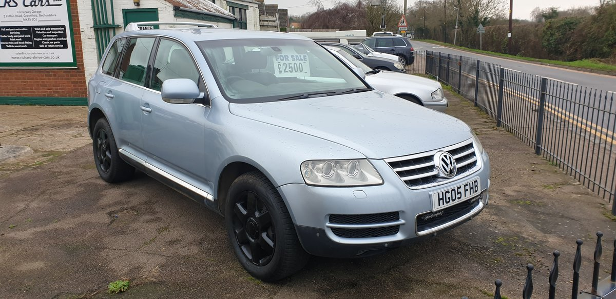 2005 VW Touareg 5.0 Litre V10 For Sale (picture 1 of 1)
