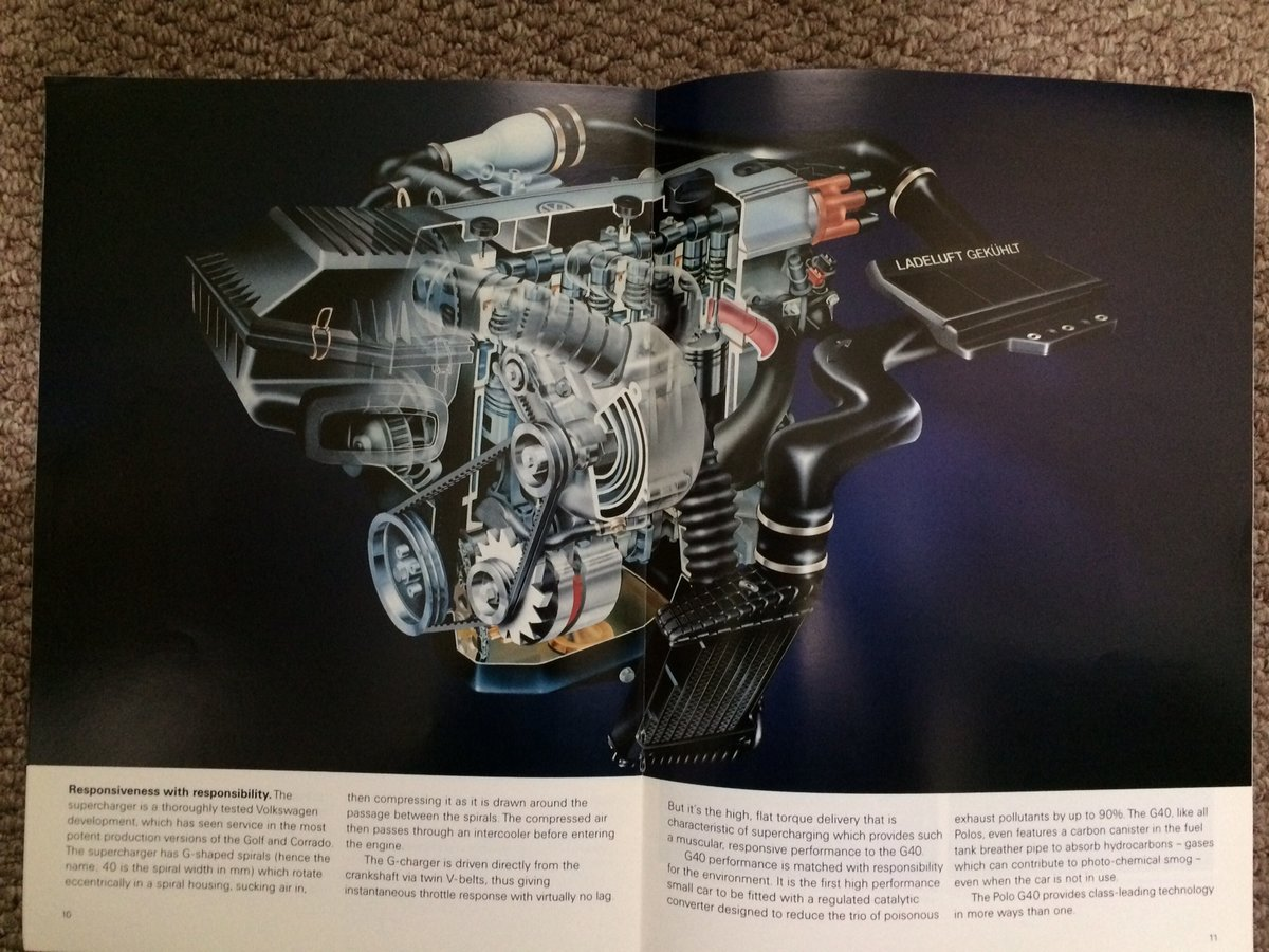VW Polo G40 Coupe brochure For Sale (picture 4 of 6)