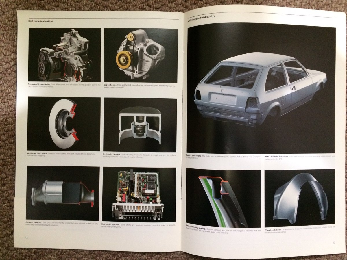 VW Polo G40 Coupe brochure For Sale (picture 5 of 6)