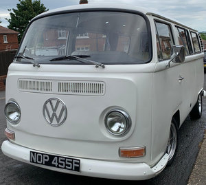VW t2 early bay window campervan lhd