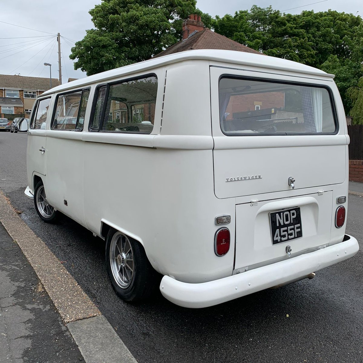 1968 VW t2 early bay window campervan lhd For Sale (picture 2 of 9)