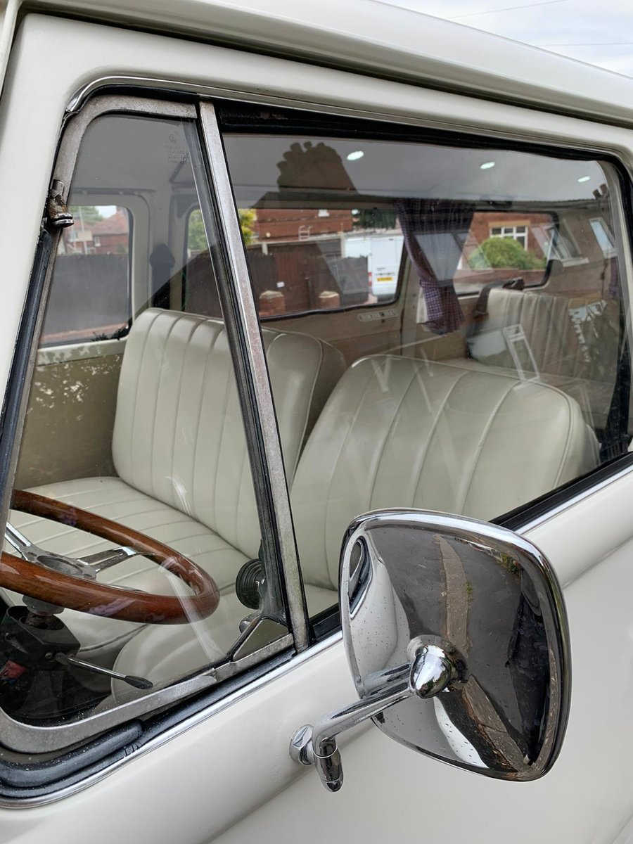 1968 VW t2 early bay window campervan lhd For Sale (picture 5 of 9)