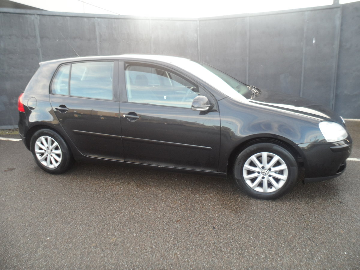 2010 10 PLATE GOLF 5 DOOR 1900cc DIESEL IN BLACK FITTED  ALLOYS For Sale (picture 5 of 12)