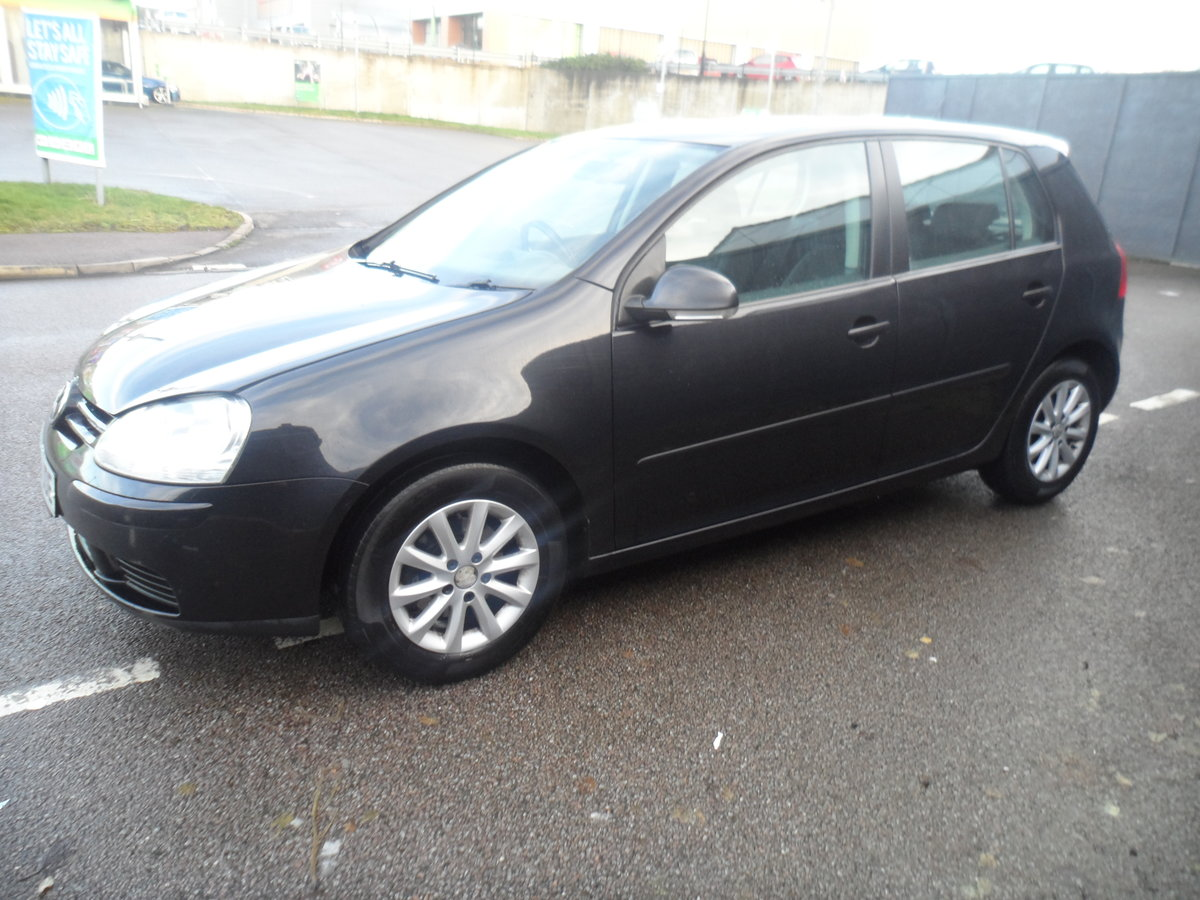 2010 10 PLATE GOLF 5 DOOR 1900cc DIESEL IN BLACK FITTED  ALLOYS For Sale (picture 6 of 12)