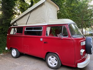 VW T2 Late Bay Campervan 2.0L Mot+Tax Exempt