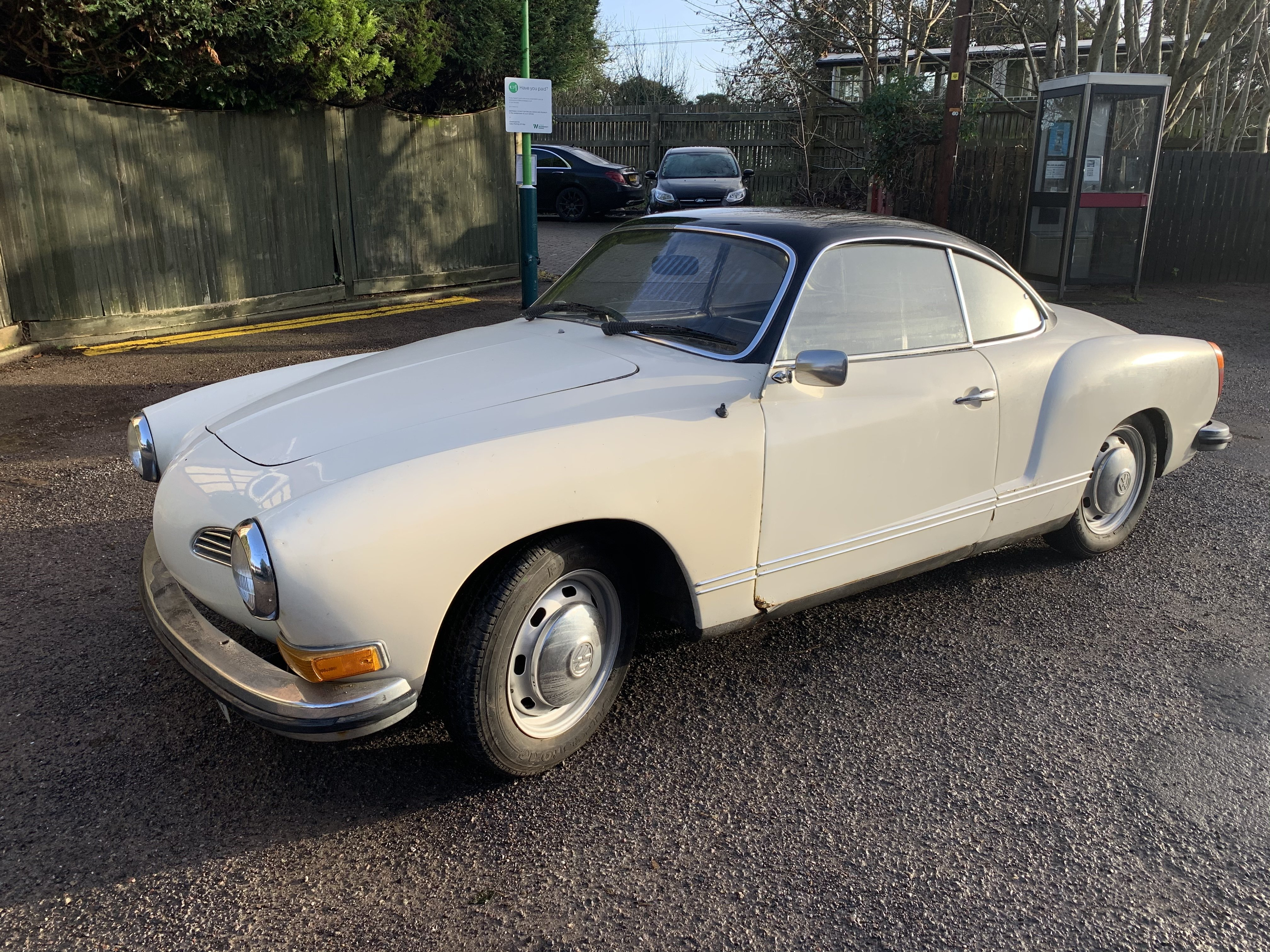 1972 Karmann Ghia Coupe RHD For Sale (picture 2 of 8)