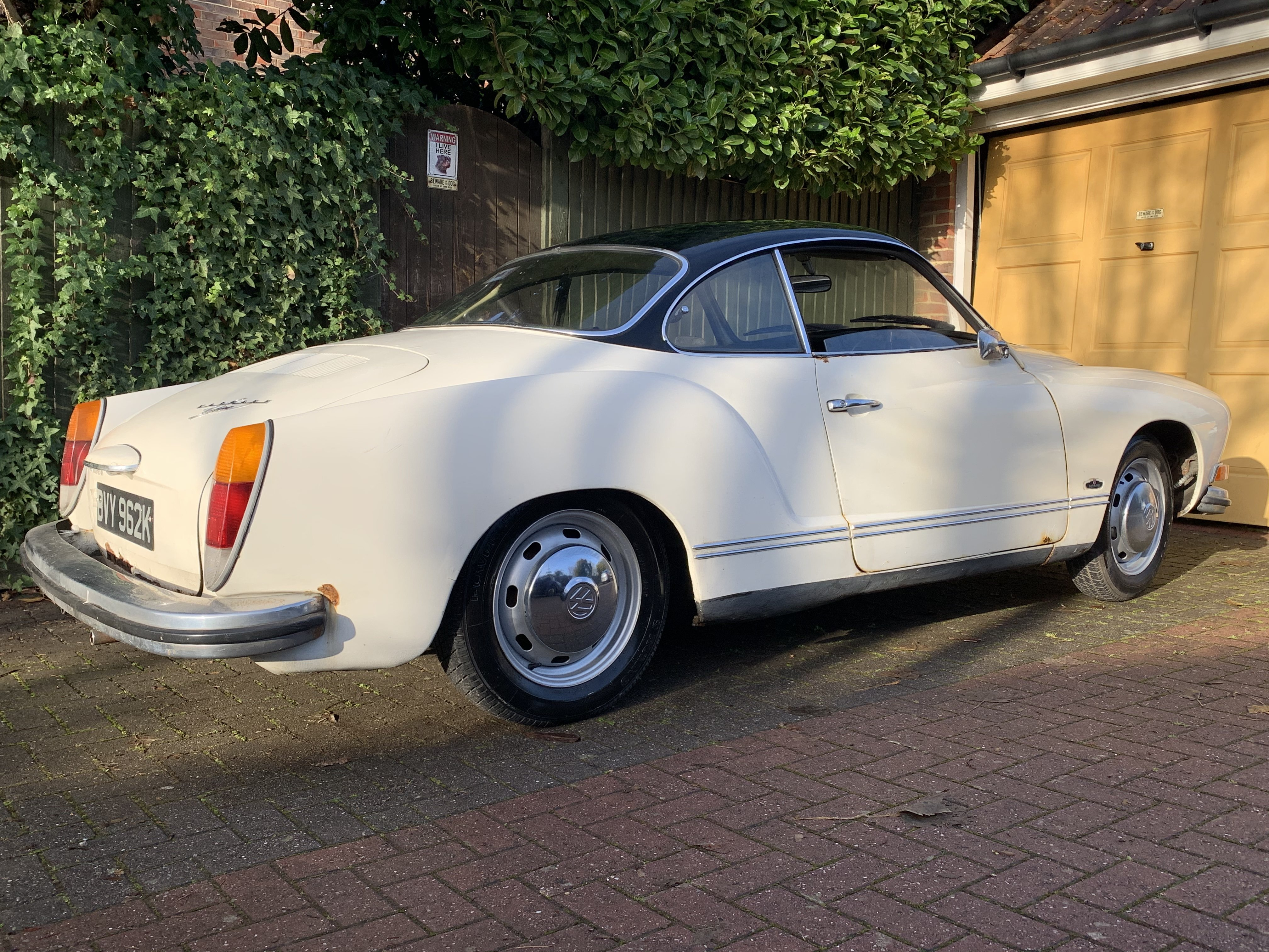 1972 Karmann Ghia Coupe RHD For Sale (picture 8 of 8)