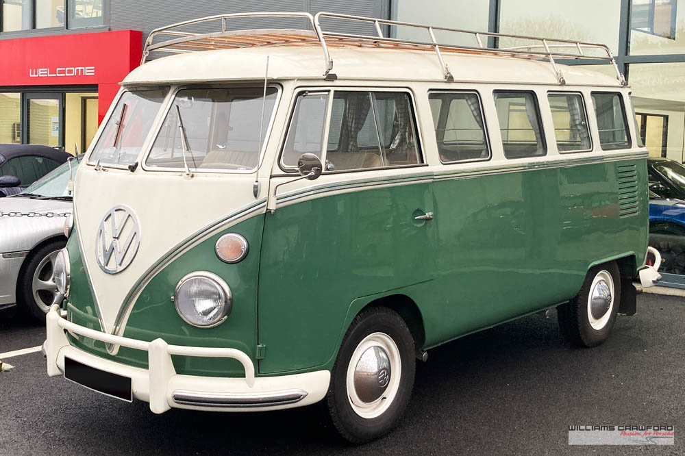 1975 VW Type 2 'Split Screen' (T1) Kombi DeLuxe LHD For Sale (picture 1 of 5)
