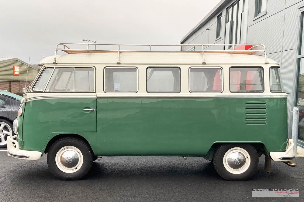 1975 VW Type 2 'Split Screen' (T1) Kombi DeLuxe LHD For Sale (picture 2 of 5)