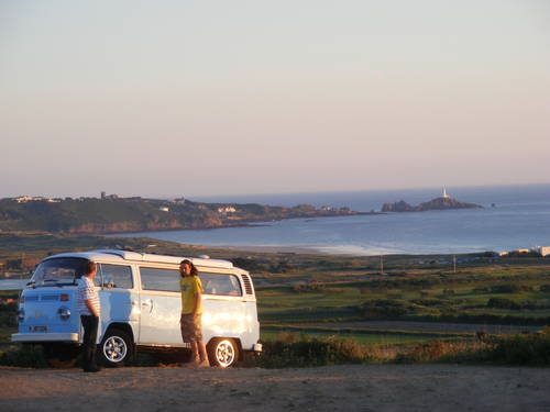 2009  New type 2 VW camper from Jersey Camper Hire.Com For Hire (picture 3 of 6)