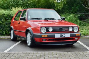 VW GOLF MK2 G60 SYNCRO 1992 1.8 4 WHEEL DRIVE RED 5DR RARE