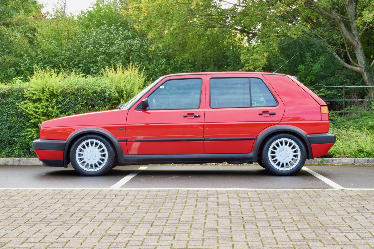 VW GOLF MK2 G60 SYNCRO 1992 1.8 4 WHEEL DRIVE RED 5DR RARE For Sale (picture 4 of 20)